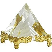 Reiki Crystal Products Vastu / Feng Shui Crystal Pyramid For Positive Energy And Vastu Correction.Good Luck & Prosperity