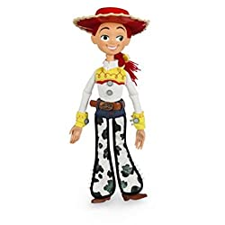 """12"""" Talking Jessie action figure from the Disney/Pixar movie Toy Story 3. Recreate scenes from the movie, pull Jessie's draw string to hear movie phrases. Suitable for ages 3+"""