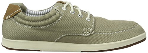 Clarks  Norwin Vibe, Derby homme Gris (Taupe)