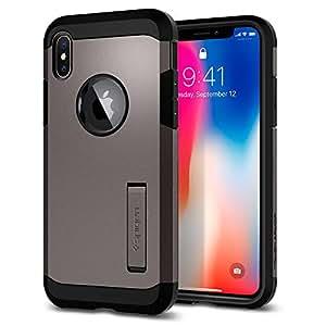 low priced 19ba3 e6e97 iPhone X Case Spigen Tough Armor iPhone x Case Cover KickstExtreme Heavy  Duty Protectio