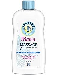 Penaten Mama Massage-Öl 200ml – Reichhaltiges Pflegeöl für die beanspruchte Haut während der Schwangerschaft – Mit 100% pflanzlichem Öl (1 x 200ml)