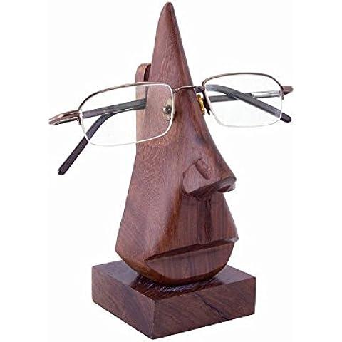 Affaires® espectáculo Soporte–Soporte de madera para gafas, diseño de soporte/soporte de pantalla espectáculo–Accesorio de escritorio es un regalo único y elegante Navidad o cumpleaños. w-40076