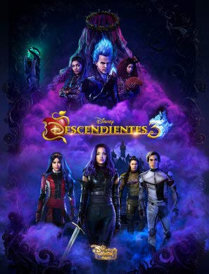 Descendants 3 - Argentinian Movie Wall Poster Print - 30cm x 43cm / 12 Inches x 17 Inches -