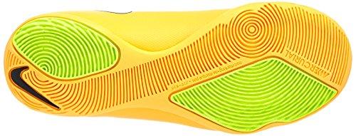 Nike  Jr. Mercurial Victory V IC, Chaussures de football pour compétition mixte enfant Orange - (Laser Orange/White-Black-Volt 800)