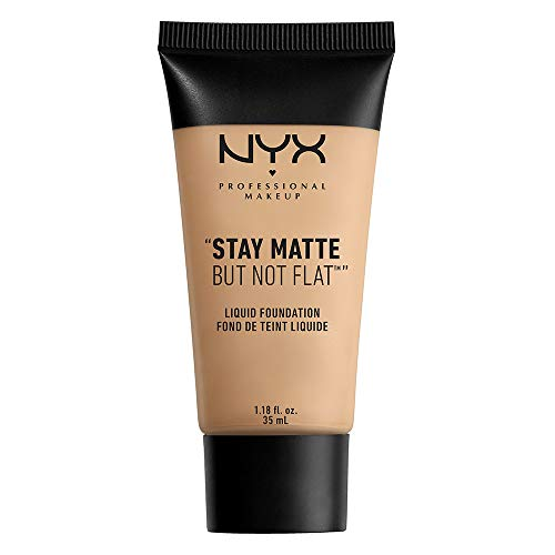 NYX Stay Matte, but not flat! Liquid Foundation, Nude, 1er Pack (1 x 35 ml)