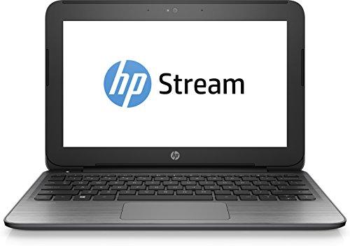 """HP Stream 11-r010nf 1.6GHz N3050 11.6"""" 1366 x 768Pixels Nero, Argento"""