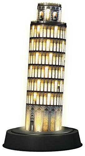 Ravensburger 12515 - Schiefer Turm bei Nacht - 3D Puzzle