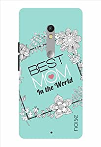 Noise Best Mom-Floral Frame Printed Cover for Motorola Moto X Play