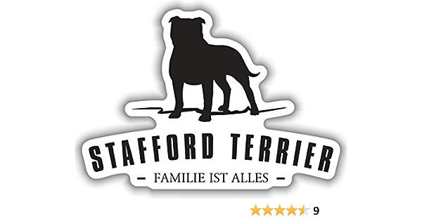 Aufkleber American Staffordshire Terrier Wetterfester Auto