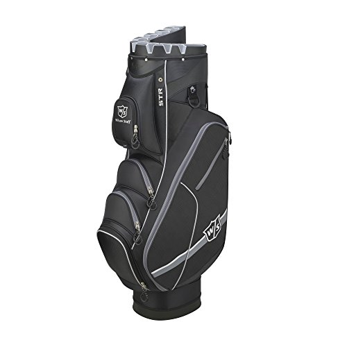 Wilson Golf WGB4319SI Sac Chariot Homme, Noir/Argent, Taille...
