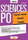 Climax Concours Sciences Po : Concours commun + Bordeaux + Grenoble