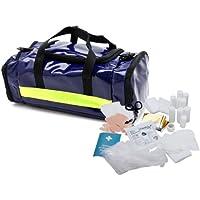 Medida S15403 Erste-Hilfe-Tasche mit Füllung DIN 13160, blau-gelb preisvergleich bei billige-tabletten.eu