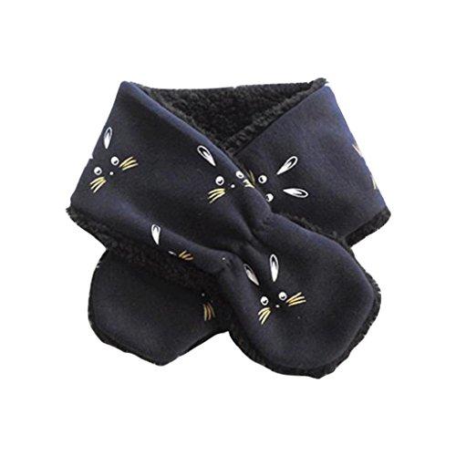 ZARU Collar de la historieta del bebé muchachas de los muchachos del otoño del invierno de la felpa del anillo o Pañuelos Bufandas