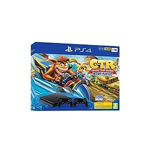 Comprar PlayStation 4 de 1 TB, Negro + Crash Team Racing