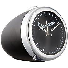 Reloj nostálgico Vespa con diseño original de faro Vespa, súper idea para regalo, cromado / blanco negro