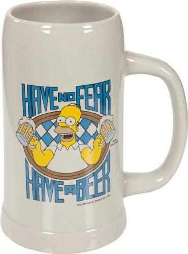 "The Simpsons - Bierhumpen  ""Have no fear"""