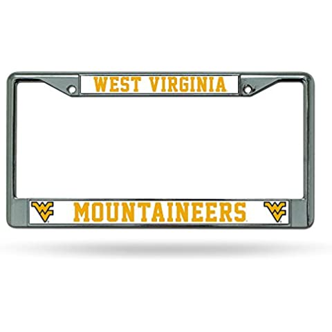 Caseys distribuire 9474632854 West Virginia Bergsteiger Chrome License Plate
