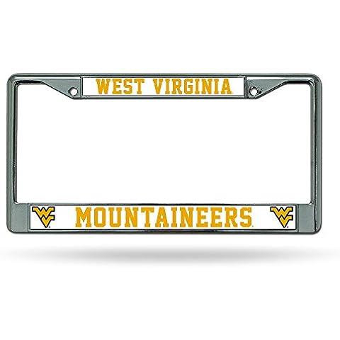 Caseys distribuire 9474632854West Virginia Bergsteiger Chrome License Plate
