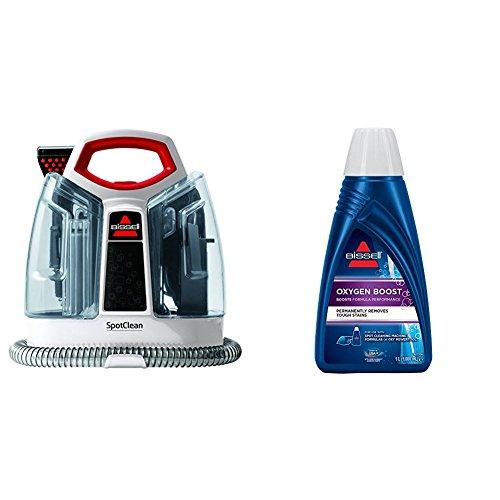 BISSELL SpotClean Fleckenreinigungsgerät + Oxygen Boost Reinigungsmittel