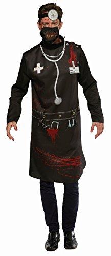 Herren Kostüm Horror Arzt Doktor Chirurg Karneval Halloween Gr.XL