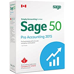 Sage Software Sage 50 Pro Accounting 2015 (1 User) Bil