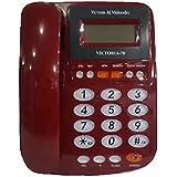 تليفون سلكى للخط الارضى Victoria-70 من فيكتوريا المهندس - احمر