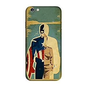 GADGETS WRAP Printed Back Cover and Case For Apple iPhone 6 Plus/6s Plus (5.5) ( CAPTAIN ROGERS F )