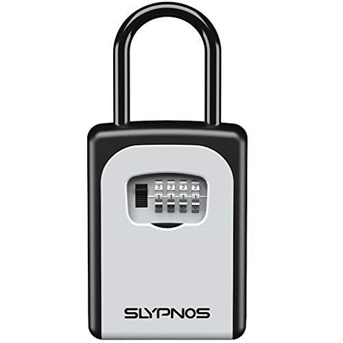 SLYPNOS - Caja de Cerradura con Llaves, Caja de Seguridad de Combinación...