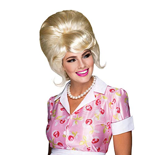 High Beehive Wig.Blonde (disfraz)