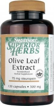 Swanson Superior Herbs Olive Leaf Extract (500mg, 120 Capsules) by Swanson Health Products
