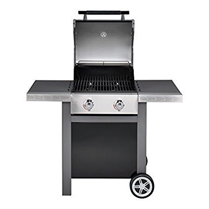 jamie oliver gasgrill home 2 zweiflammiger premium bbq grillwagen mit thermometer. Black Bedroom Furniture Sets. Home Design Ideas