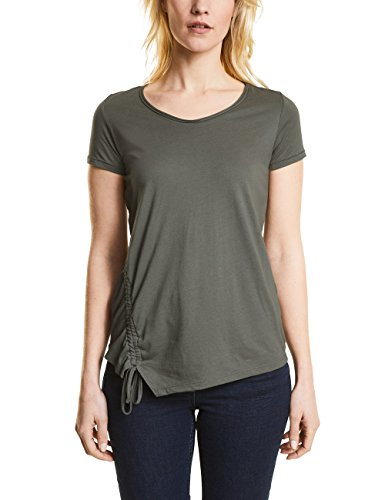 Cecil Damen T-Shirt Grün (Smoky Khaki 11094)