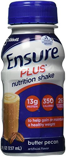 ensure-plus-ready-to-drink-nutrition-shake-8-oz-6-ea-butter-pecan-1-pack-by-abbott