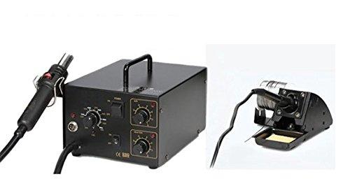 Preisvergleich Produktbild GOWE Multitasking-Reparatur-System Lötstation Lötkolben Heißluft-Lötstation