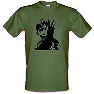 KES Iconic Film Image Ken Loach Billy Casper Falcon Retro Heavy Cotton t-shirt Sizes Small - XXL