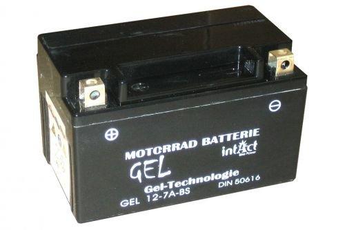 Ltr-batterie (12V 6Ah Gel Power Batterie Akku YTX7A-BS (151 x 87 x 94 mm) für Roller)