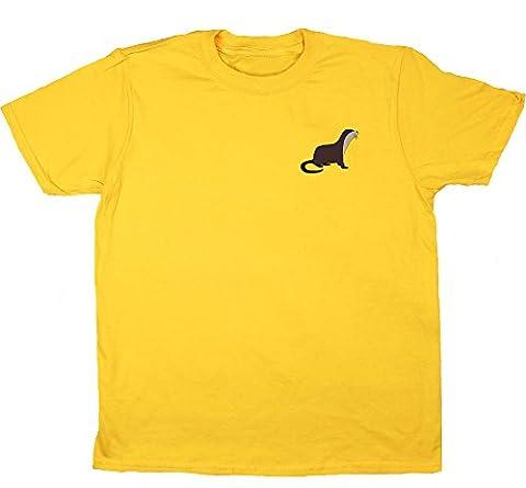 Hippowarehouse - Sweat-shirt à capuche - Fille - jaune