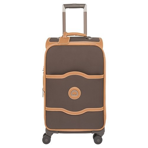 delsey-luggage-chatelet-softside-21-4-wheel-spinner-chocolate