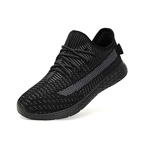43b481db03e81 LOHOTEK Flyknit Zapatillas Hombres Zapatos Deportivos para Hombres -  Zapatos Casuales para Caminar Antideslizantes de Moda Zapatos Deportivas ...