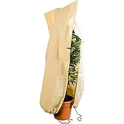 Royal Gardineer Kübelpflanzensäcke: XL-Pflanzenabdeckung als Winterschutz, 180x120cm, 80 g/m² (Pflanzenschutzhaube)