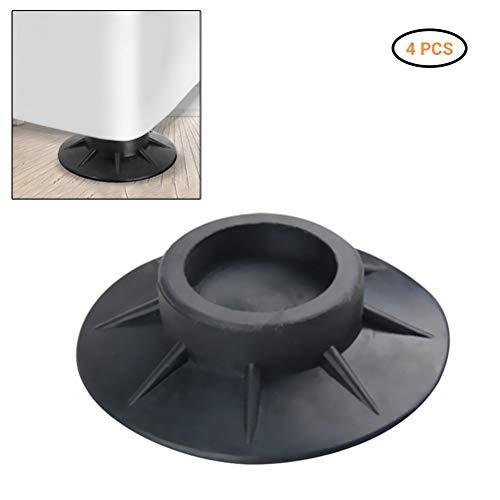 Schwingungsdämpfer Waschmaschinenunterlage, Waschmaschine Trockner Stabilisator Pads Antivibration und Anti Walk Pads Waschmaschine Matten, 4 Stück