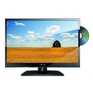 "16"" Super Slim 12v-24v /230v LED TV Multi Region DVD, Freeview, USB Record with DC Power Regulator"