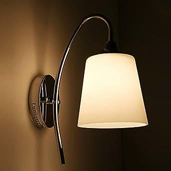 luniquz led wandleuchte f r schlafzimmer flur nachttisch beleuchtung. Black Bedroom Furniture Sets. Home Design Ideas