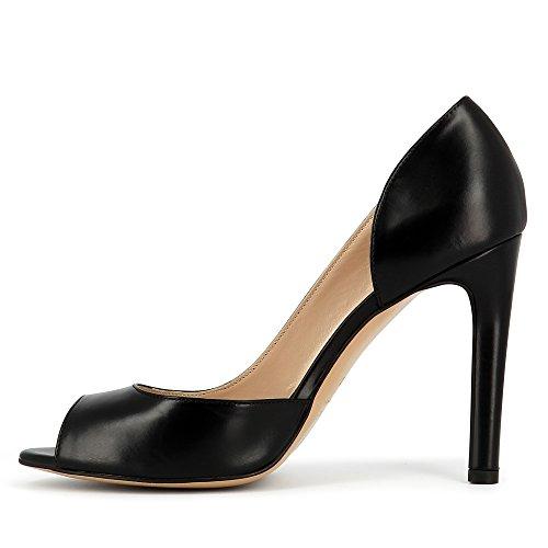 Evita Shoes Belina, Scarpe col tacco donna Nero