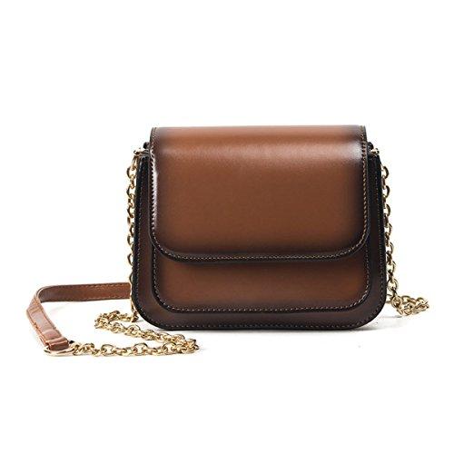 KYFW Womens Die Neue Weibliche Paket-Art Und Weise Einfache Wilde Schulter-Kurier-Beutel-Handtaschen A