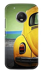 KAWACH Moto G5 Case/Backcover (5-inch) - Old Beetle