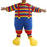 Generic Novelty Adult Clown Suit Inflata...
