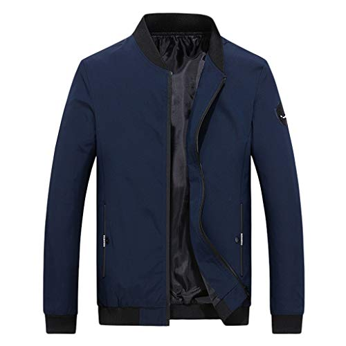 Bomber Jacket Autunno Inverno Uomo Casual Fashion Pure Color Jacket Cerniera Capispalla Felpe con Cappuccio per Bambini