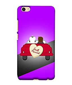 Fuson Designer Back Case Cover for Vivo Y55L :: Vivo Y55 (Heart Love Sweet Beloved Darling)