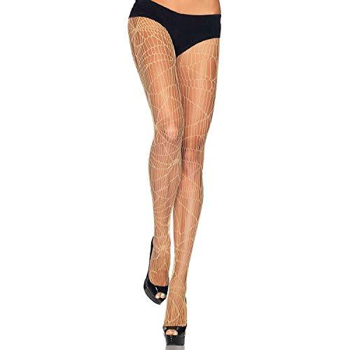 LEG AVENUE 9934 - Feinstrumphose im Netz Disign Falten Höschen, Einheitsgröße - Leg Avenue Kostüm Falten